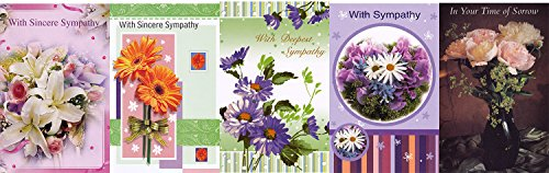 Assorted Sympathy Greeting Cards Pack product image