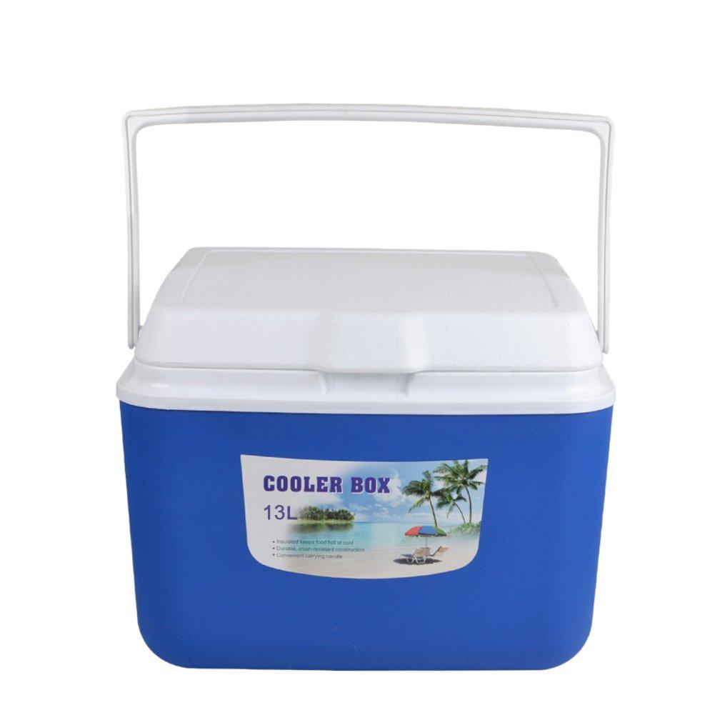 Blau Mini-K/ühlschrank f/ür Auto und Camping Isolierbox K/ühl Box zum warmhalten oder k/ühlen Gaeruite K/ühlbox