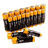 Silicon Power Alkaline Sp/Silicon Power 10 Pack AA & 10 Pack AAA Alkaline Batteries - 1.5V Anti-Leakage Protection (SPAL23ABAT20SV1KAE)