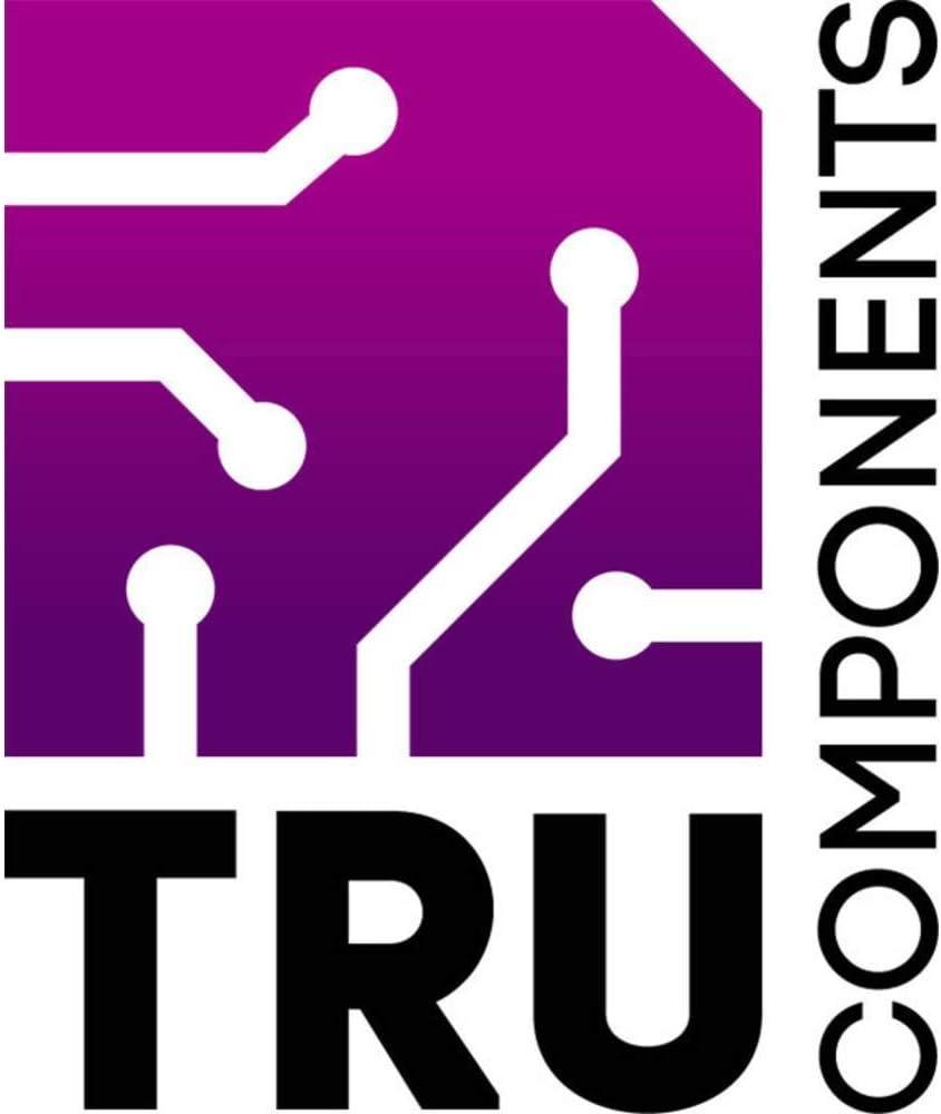 TRU COMPONENTS 4U65110907310 Hutschienen-Geh/äuse 107 x 89 x 66 ABS Grau 1 St.