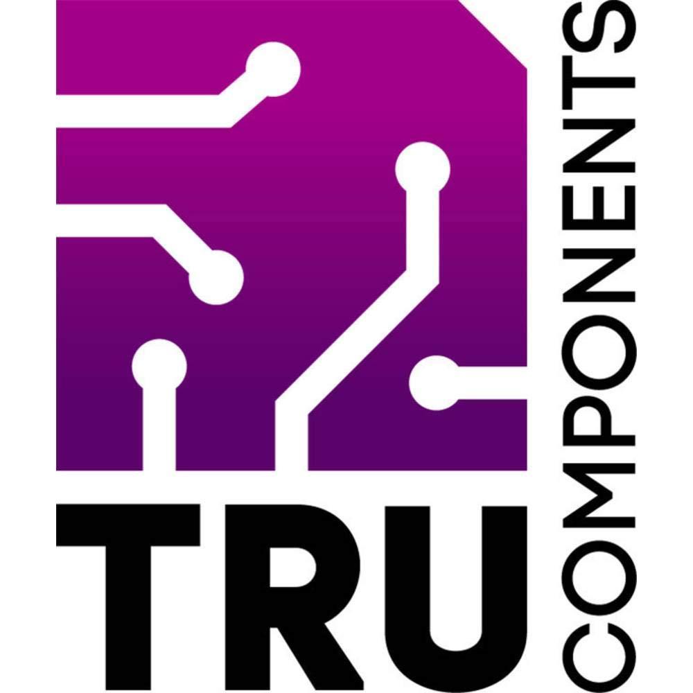Bouchon dextr/émit/é Non r/étractable TRU COMPONENTS TC-EP-0513203 1592748 Noir 100 pc s