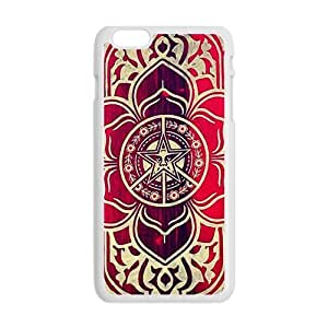 peace and justice obey Red star flowers Cell Phone Case for iPhone plus 6