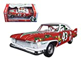 Richard Petty 1960 Plymouth Fury #43 2015 Christmas Edition Limited to 1250pc 1/24 by Autoworld 24003
