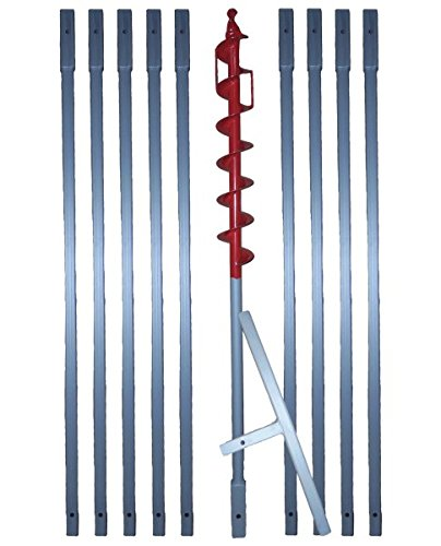 90 mm Erdbohrer + Brunnenbohrer verlängerbar  HIER  in versch. Längen (** z.B. 10m **)