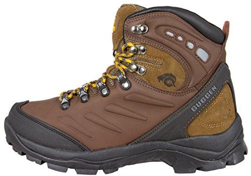 Impermeabili Gli Marrone Guggen Trekking M013 Stivali Alpini Scarpe Uomini  Scarponi Mountain Si Montagna Da agq5gxPw 7731e9b715f
