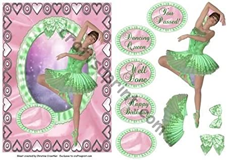 Ballerina dancing queen cumpleaños felicitaciones por ...