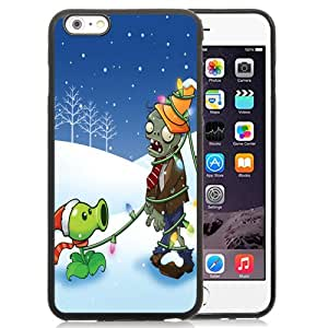 Fashion DIY Custom Designed iPhone 6 Plus 5.5 Inch Phone Case For Plants vs. Zombies Christmas Phone Case Cover