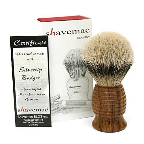 Shavemac Silvertip Badger Shaving Brush RW2 by shavemac