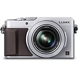 PANASONIC LUMIX LX100 4K Point and Shoot Camera, 3.1X LEICA DC Vario-SUMMILUX F1.7-2.8 Lens with Power O.I.S., 12.8 Megapixel, DMC-LX100S (USA SILVER)
