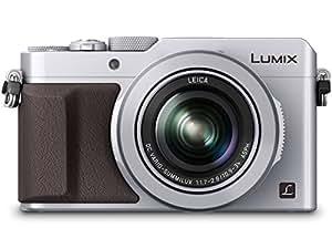 PANASONIC LUMIX LX100 4K Point and Shoot Camera, 3.1X LEICA DC Vario-SUMMILUX F1.7-2.8 Lens with Power O.I.S., 12.8 Megapixel, DMC-LX100S (USA SILVER)