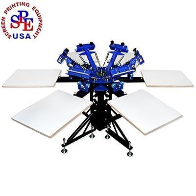6-6 Double Wheel Screen Printing Machine Screen Printing Press DIY Equipment T-shirt