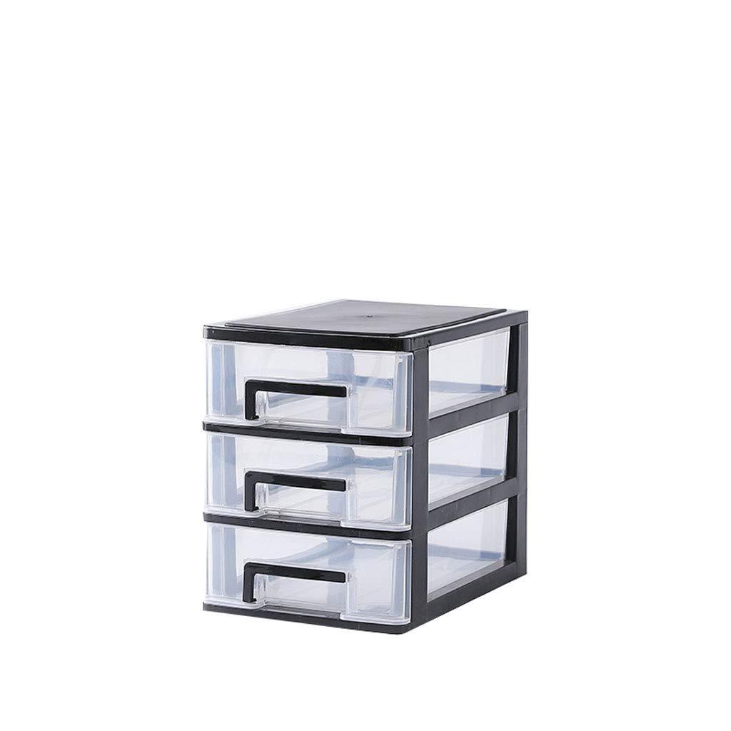 Kaiyu Caja de Transparente Almacenamiento de Escritorio Transparente de Pequeño cajón Escritorio Gabinete de Almacenamiento Papelería de plástico Caja de Guantes Mini Caja de Almacenamiento (Color : 6) fd7056