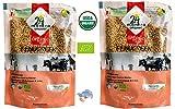 Organic Fenugreek Seeds - ★ USDA Certified Organic - ★ European Union Certified Organic - ★ Pesticides Free - ★ Adulteration Free - ★ Sodium Free - Pack of 2 X 7 Ounces(14 Ounces) - 24 Mantra Organic
