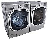 WM4270HVA+DLGX4271V-LG Turbo Series Ultra-Capacity Laundry System with GAS Dryer inGRAPHITE STEEL(WM4270HVA+DLGX4271V)