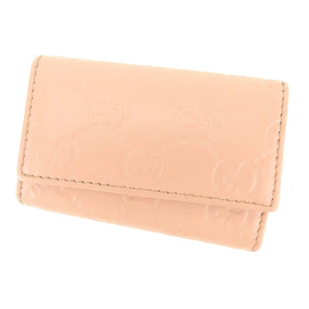 (グッチ) Gucci キーケース 6連キーケース ピンク ゴールド グッチシマ レディース 中古 C3278   B07HMLHQWF