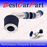 96 97 98 99 GMC 2500 3500 Sierra Yukon 5.0 5.7 V8 Short Ram Intake Blue (Included Air Filter) #Sr-ch006b