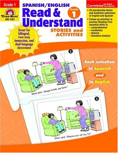 Spanish/English Read & Understand, Grade 1 (Spanish Edition)