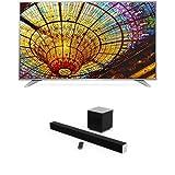 LG 60-Inch 4K Ultra HD Smart LED TV and VIZIO 38-Inch 2.1 Sound Bar
