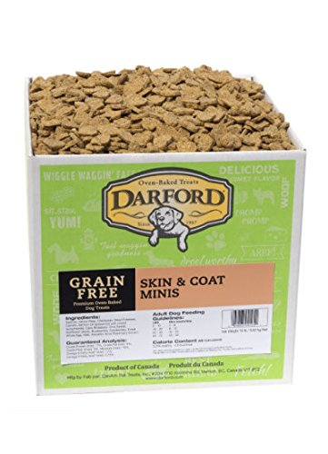 Darford Naturals Treat Grain-Free Skin/Coat Treat, Mini/19 lb by Darford