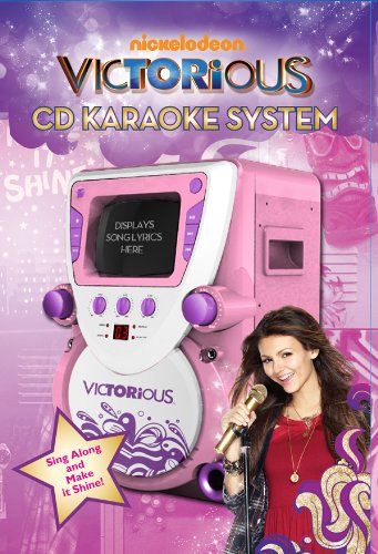 Nickelodeon Victorious Super Video Karaoke System, Pink (68163)