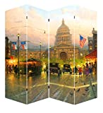 Ore International FW1502F Capitol Hill Street Scene Canvas - Best Reviews Guide