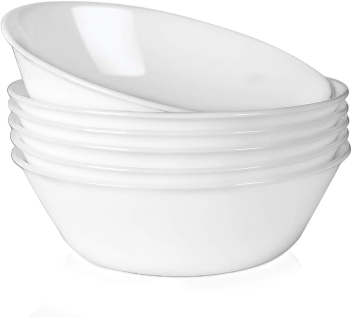 1.3Qt/43 oz Serving Bowls Set of 6-3 oz Ceramic Dip Bowls Set of 6