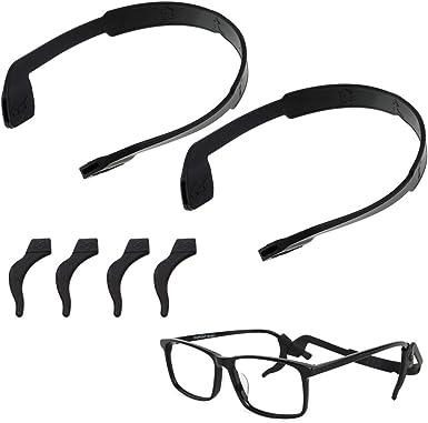Non Slip Eyeglass Retainer Lanyard Strap for Swim Goggles Sunglass Ear Hook