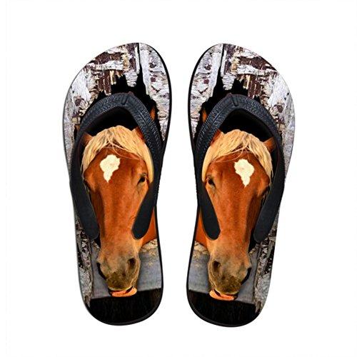 Mujer Horse Caucho Showudesigns Tira Tobillo de 3 de wz8fZ1