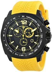Swiss Legend Men's 21046-BB-01-YAS Sprinter Analog Display Swiss Quartz Yellow Watch