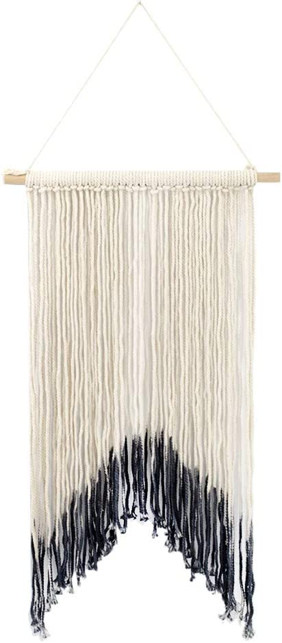 Vosarea macram/é tapicer/ía Pared Tapiz de Boda Boho Percha de sue/ño Arte de Pared Hecho a Mano decoraci/ón de Pared 105/x 45/cm