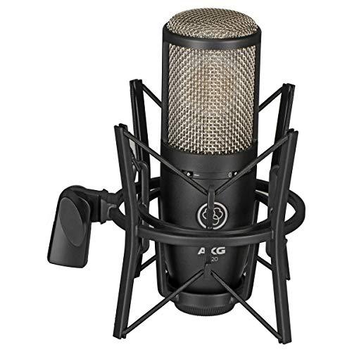 AKG Vocal Condenser Microphone, Black, 6.00 x 8.00 x 12.00'' (3101H00420) by AKG (Image #1)