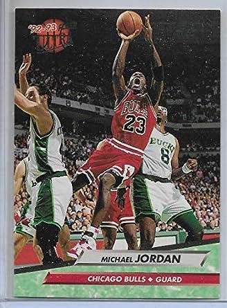 Amazon 1992 93 Fleer Ultra Basketball Michael Jordan Base Card 27 Collectibles Fine Art