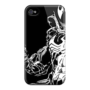 TanyaCulver Iphone 4/4s Protector Hard Cell-phone Case Allow Personal Design Nice Venom Series [Qkl24047ifBY]