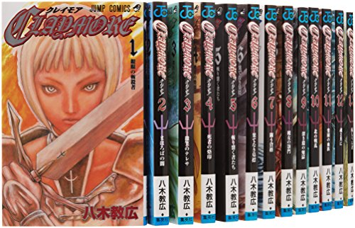 CLAYMORE 全27巻完結セット (ジャンプコミックス)の商品画像