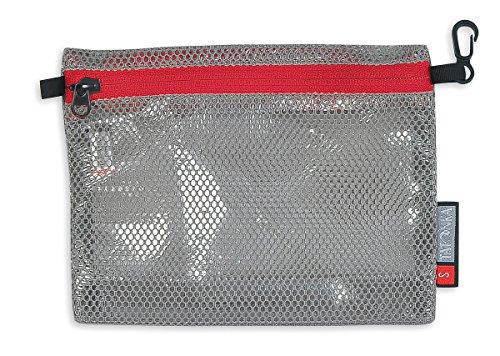Tatonka Beutel Dodger, Grey-Red, 19 x 14 x 5 cm, 3131