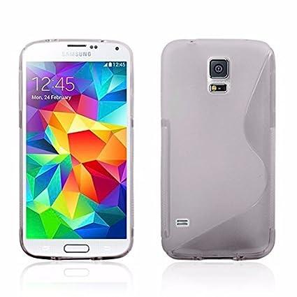 NUEVO gris Sline Wave Gel de silicona Carcasa para Samsung ...