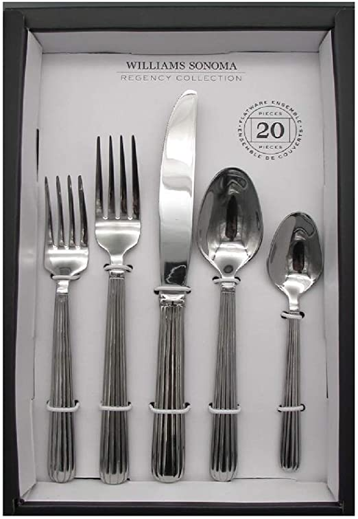 Williams Sonoma PROVENCAL 20pc Service pour 4 Couverts Set by Reed /& Barton