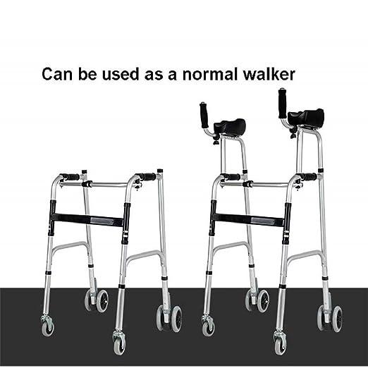 Bastidor plegable para caminar con almohadilla de apoyo para el ...