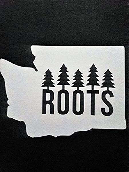 Oregon ROOTS PNW Pacific Northwest Decal