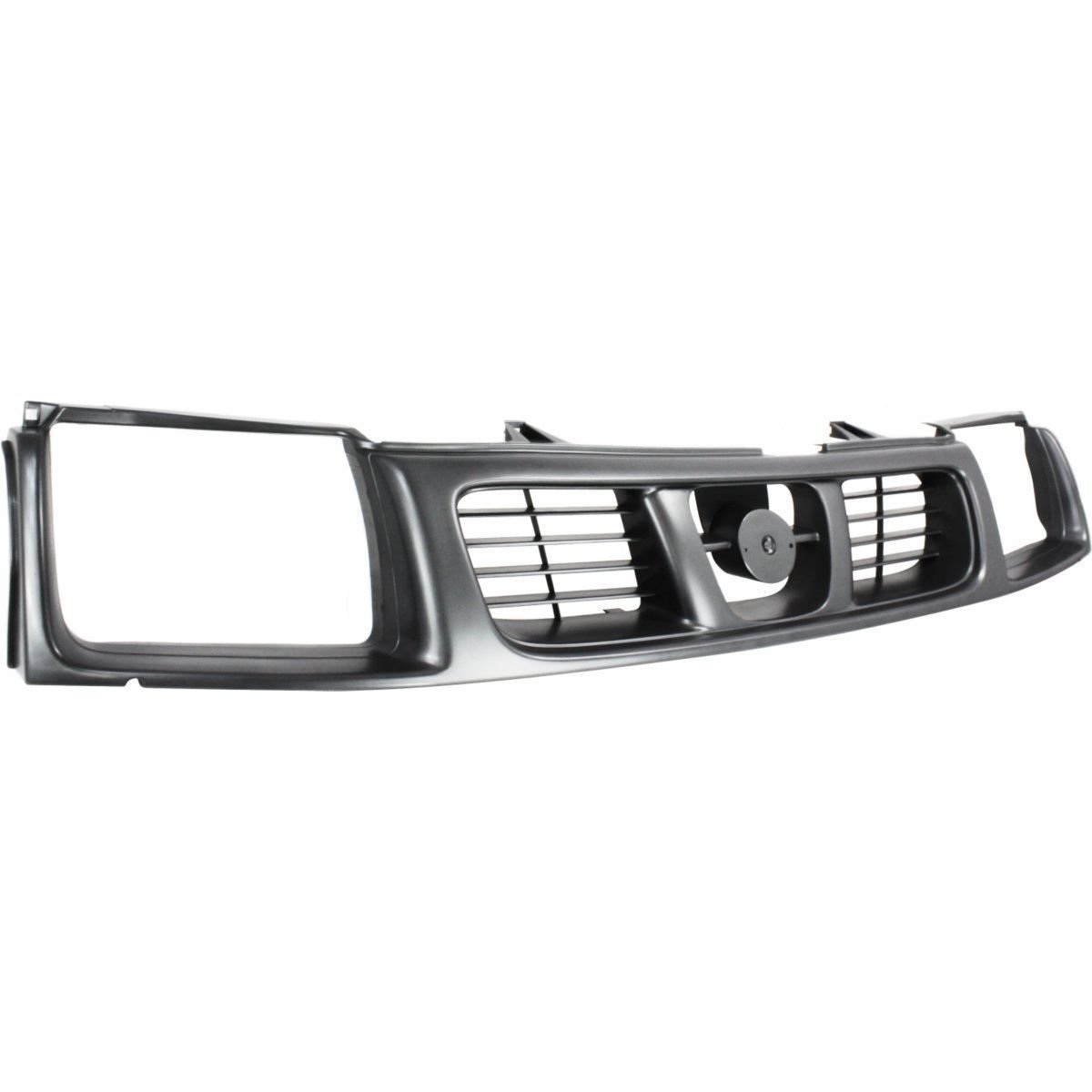 New Front Grille Side For 1998-2000 Nissan Frontier Black NI1200181 623103S500