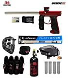 Cheap Empire Mini GS Tournament Elite Paintball Gun Package B – Dust Red/Silver