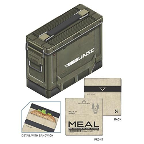 Halo Ammo Crate Tin Lunch Box