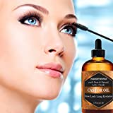Organic-Castor-Oil-100-Certified-Pure-Cold-Pressed-Hexane-free-Boost-Growth-For-Eyelashes-Hair-Eyebrows-Face-and-Skin-with-Treatment-Applicator-Kit-1oz-30ml