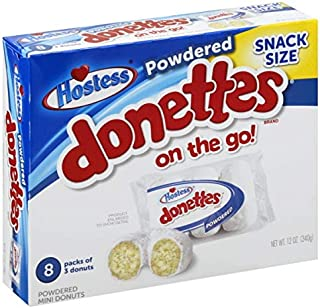 product image for Hostess Snack Size Donettes 12oz Box (Powdered, 12oz)