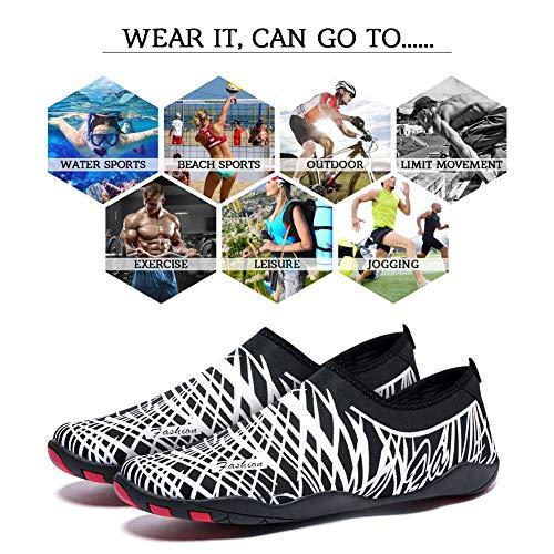 Eau Sports Blanc Plonge Aqua Yoga line Plage Femmes Surf Marcher Canotage Schage Nager Conduite Hommes Chaussures Madaleno Lger Rapide Jardin AdwqBnA