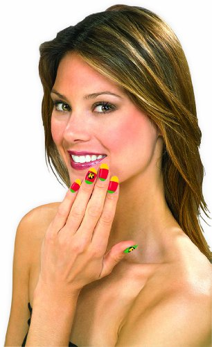 Robin Kids Costumes Kit (Rubies Teen Titans Robin Nail Art Strips)