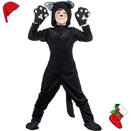 AMMA Navidad Gato Vestido de niño Chico Traje la Ropa ...