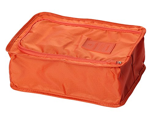 CAIHEE 3/6 Pieces Waterproof Shoe Bag Travle Organizers Easy Packing Cubes (Wet Cube Collection)