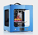 WEEDO S3 desktop 3D printer, Metal Frame Professional High Resolution Stable , Single extruder, LCD Display,Air Particle Filtration Module Popular in Industry and Education (Blue)