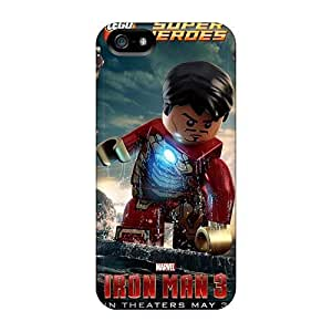 Shock-Absorbing Hard Phone Case For Iphone 5/5s With Custom Stylish Ant Man Skin PhilHolmes
